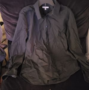 Express 1MX Black Buttondown Shirt slimfit (used)